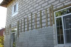 Облицовка фасада из газобетона