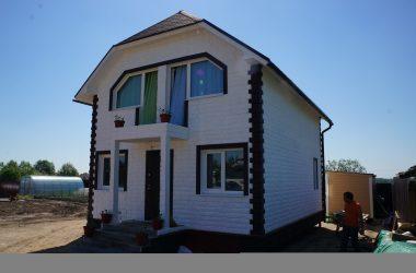 Отделка деревянных и каркасных домов