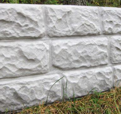 Крепостная стена, серый